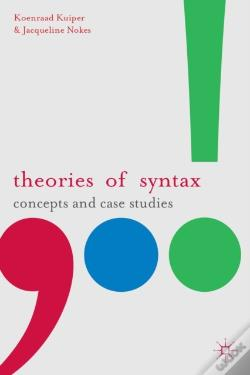 Wook.pt - Theories Of Syntax