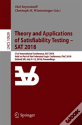 Theory And Applications Of Satisfiability Testing - Sat 2018