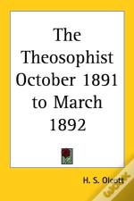 Theosophist October 1891 To March 1892