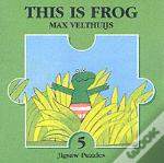 This Is Frog Jigsaw Book