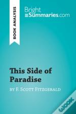 This Side Of Paradise By F. Scott Fitzgerald (Book Analysis)