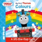 Thomas & Friends: My First Thomas Colours (A Lift-The-Flap Book)