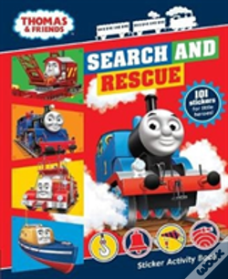 Wook.pt - Thomas & Friends: Search And Rescue Sticker Activity Book