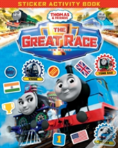 Thomas & Friends: The Great Race Movie Sticker Book