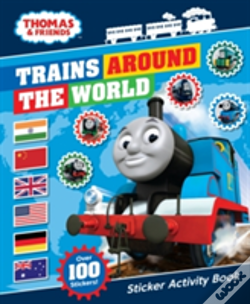 Wook.pt - Thomas & Friends: Trains Around The World Sticker Activity Book