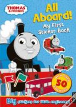Wook.pt - Thomas The Tank Engine All Aboard! My First Sticker Book