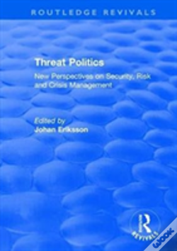 Wook.pt - Threat Politics New Perspectives O