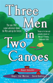 Three Men In Two Canoes