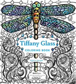 Wook.pt - Tiffany Glass Coloring Book