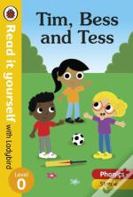 Tim, Bess And Tess - Read It Yourself With Ladybird Level 0: Step 4