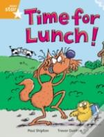 Time For Lunchorange Reader 2