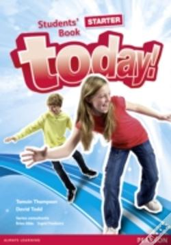 Wook.pt - Today! Starter Students Book Standalone