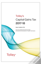 Tolley'S Capital Gains Tax 2017-18 Main Annual