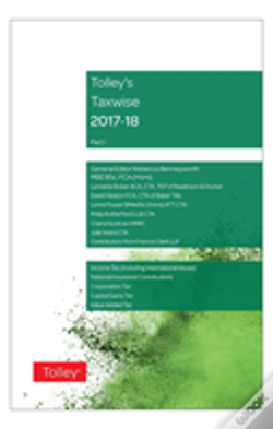 Wook.pt - Tolley'S Taxwise I 2017-18