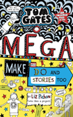 Tom Gates The Colouring & Doodled Book