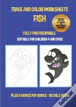 Trace And Color Worksheets (Fish)