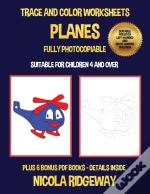 Trace And Color Worksheets (Planes)