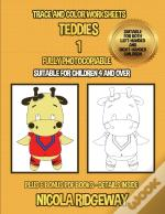 Trace And Color Worksheets (Teddies 1)
