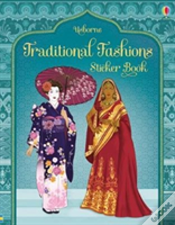 Wook.pt - Traditional Fashions Sticker Book