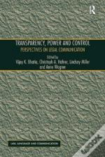 Transparency, Power, And Control