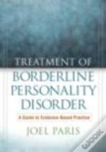 Treatment Of Borderline Personality Diso