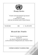 Treaty Series 2843 (English/French Edition)