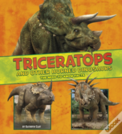 Wook.pt - Triceratops And Other Horned Dinosa