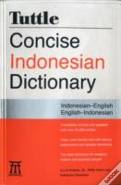 Wook.pt - Tuttle Concise Indonesian Dictionary