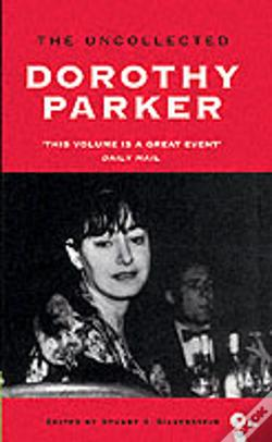 Wook.pt - Uncollected Dorothy Parker