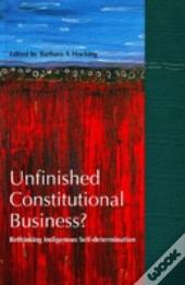 Unfinished Constitutional Business?