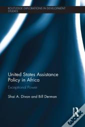 United States Assistance Policy In Africa
