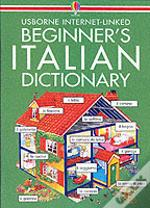 Usborne Beginner'S Italian Dictionary