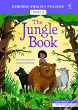 Wook.pt - Usborne English Readers Level 3: The Jungle Book