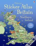 Usborne Sticker Atlas Of Britain And Northern Ireland