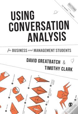 Wook.pt - Using Conversation Analysis For Business And Management Students