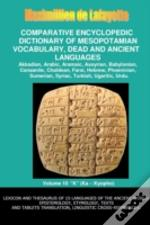 V10.Comparative Encyclopedic Dictionary Of Mesopotamian Vocabulary Dead & Ancient Languages