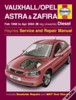 Wook.pt - Vauxhall Opel Astra & Zafira Service And Repair Manual