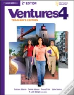 Wook.pt - Ventures Level 4 Teacher'S Edition With Assessment Audio Cd/Cd-Rom