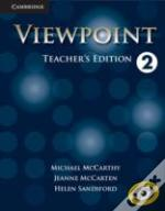 Viewpoint Level 2 Teacher'S Edition With Assessment Audio Cd/Cd-Rom Teacher'S Ed With Assess Audio Cd/Cd-R