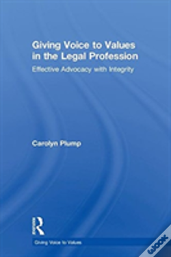 Wook.pt - Voicing Values In The Legal Profess