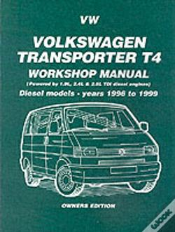 Wook.pt - Volkswagen Transporter T4 Workshop Manual Owners Edition