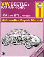 Vw Beetle And Karmann Ghia (1954-79) Automotive Repair Manual