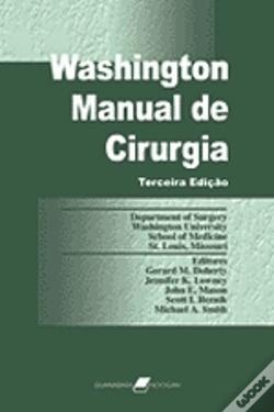 Wook.pt - Washington / Manual de Cirurgia