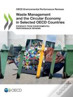 Waste Management And The Circular Economy In Selected Oecd Countries