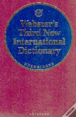 Wook.pt - Webster's Third New International Dictionary