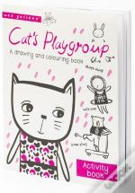 Wee Gallery Activity Books: Cat'S Playgroup