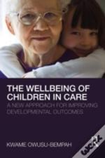 Wellbeing Of Children In Care