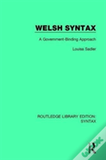 Welsh Syntax Rle Syntax