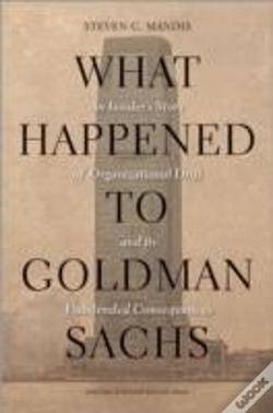 Wook.pt - What Happened To Goldman Sachs