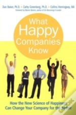What Happy Companies Know